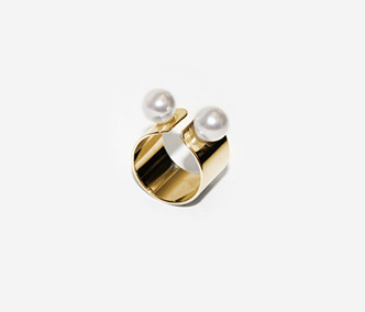 Twins Pearl Ring