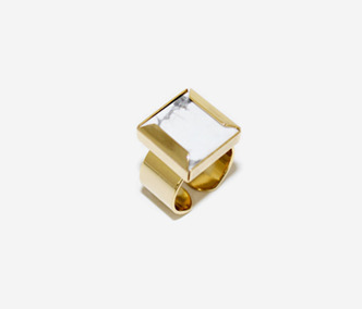 Marble Square Ring 30% SALE