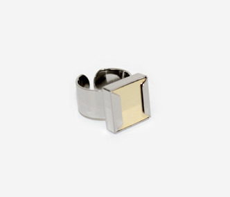 Square Metal Ring 30% SALE