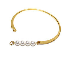 Usual Pearl Bangle
