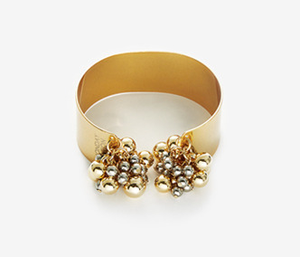 Metal Drops Bold Bangle 30% SALE