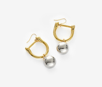 Bold Drop Link Earrings