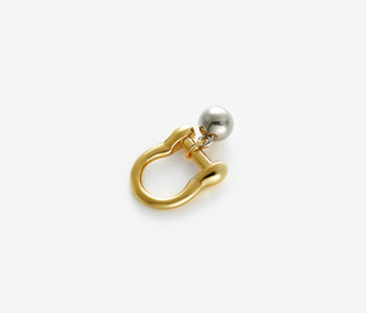 Bold Drop Link Ring