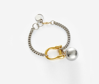Bold Drop and Link Bracelet 30% SALE