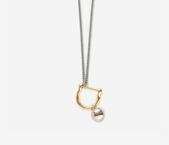 [Monday Edition] Bold Drop and Link Long Necklace (50%off)