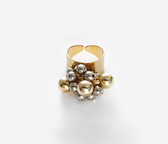Metal Drops Ring 30% SALE