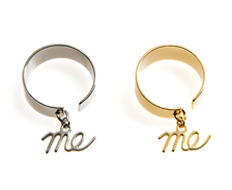 Usual Me Pendant Simple Ring