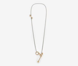 [Monday Edition] Ball & Stick Long Necklace (40%off)
