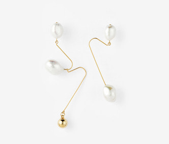 [Monday Edition] Ugly Pearl Earrings (30%off)