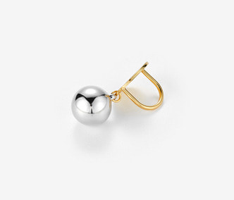 Bold Silver Ball Ring