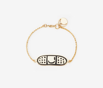 [ME x Chocomoo] Band-Aid chain bracelet