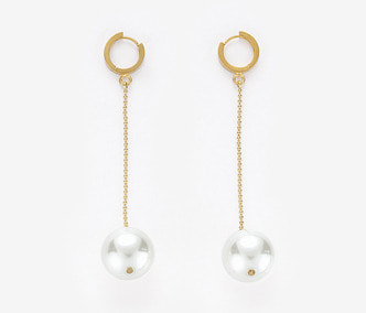 [Monday Edition] Big Pearl Drop Earrings (20%off)