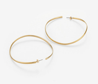 [Monday Edition] Wave Big Circle Earrings (20%off)