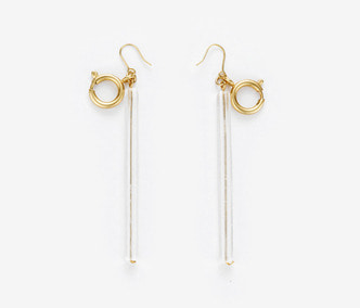 [Monday Edition] Acrylic Bar Link Earrings (20%off)