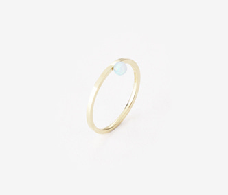 [PRECIOUS] Birthstone Ring Opal - October