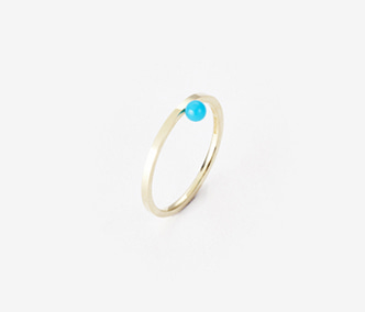 Birthstone Ring Turquoise - December