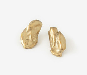 [Monday Edition] Bold Baroque Gold Earrings (20%off)