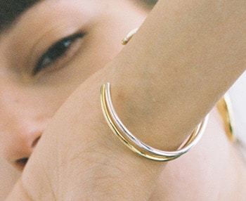 [usual ME] simple silver bangle