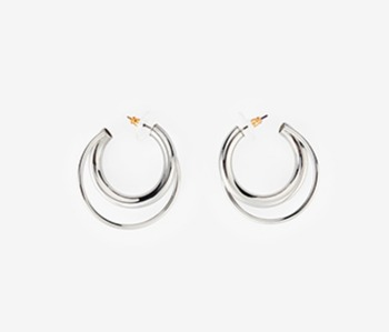 Pipe Touched Earrings