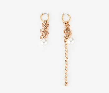 Simple Chain Bundle Earrings