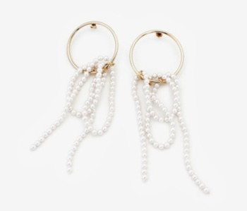 [Monday Edition] Pearl Falls Earrings (20%off)