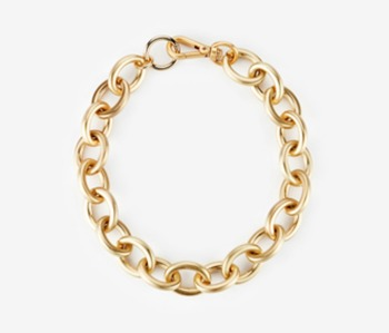 [Monday Edition] bold oval chain necklace (10%off)