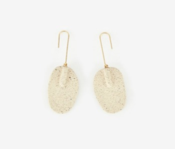 [Monday Edition] Ceramic Paddle Earrings (20%off)
