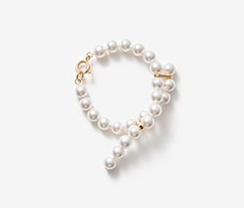 Cross-ended Pearl Bracelet
