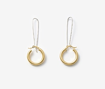 [Monday Edition] Simple Chunky Hoop Earrings