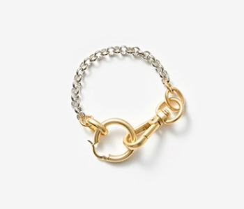 [Monday Edition] Linked Chunky Hoop Bracelet (10%off)
