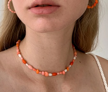 [usual ME] Corallites Assembly Choker (15%off)