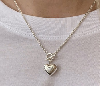 [usual ME] Pounding Heart Necklace