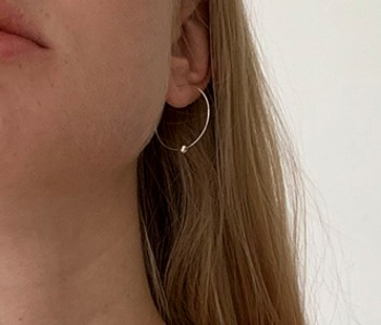 [usual ME] Luna Orbit Earrings