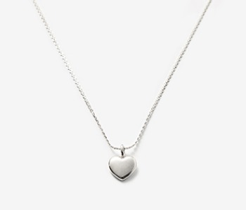 [usual ME] Pounding Heart Simple Necklace