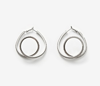 Middle Coil Itself Earrings (10% off)
