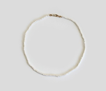The Basic Pearl Necklace  2mm (2주예약배송)