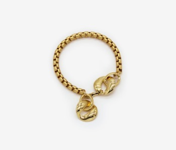 Wild Pansy Simple Bracelet (10% off) (2주예약배송)