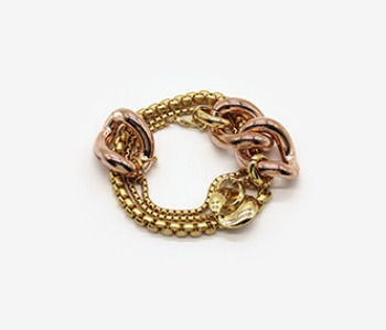 Wild Pansy Layered Bracelet (10% off) (2주예약배송)