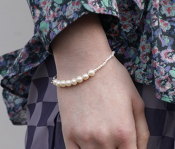 The mixed pearl bracelet (10%off) - 제작기간 2주