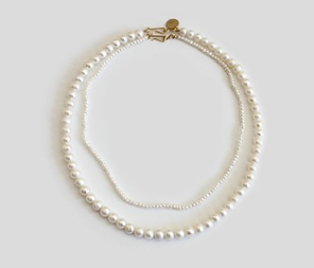 The Basic Pearl Necklace SET 20% off